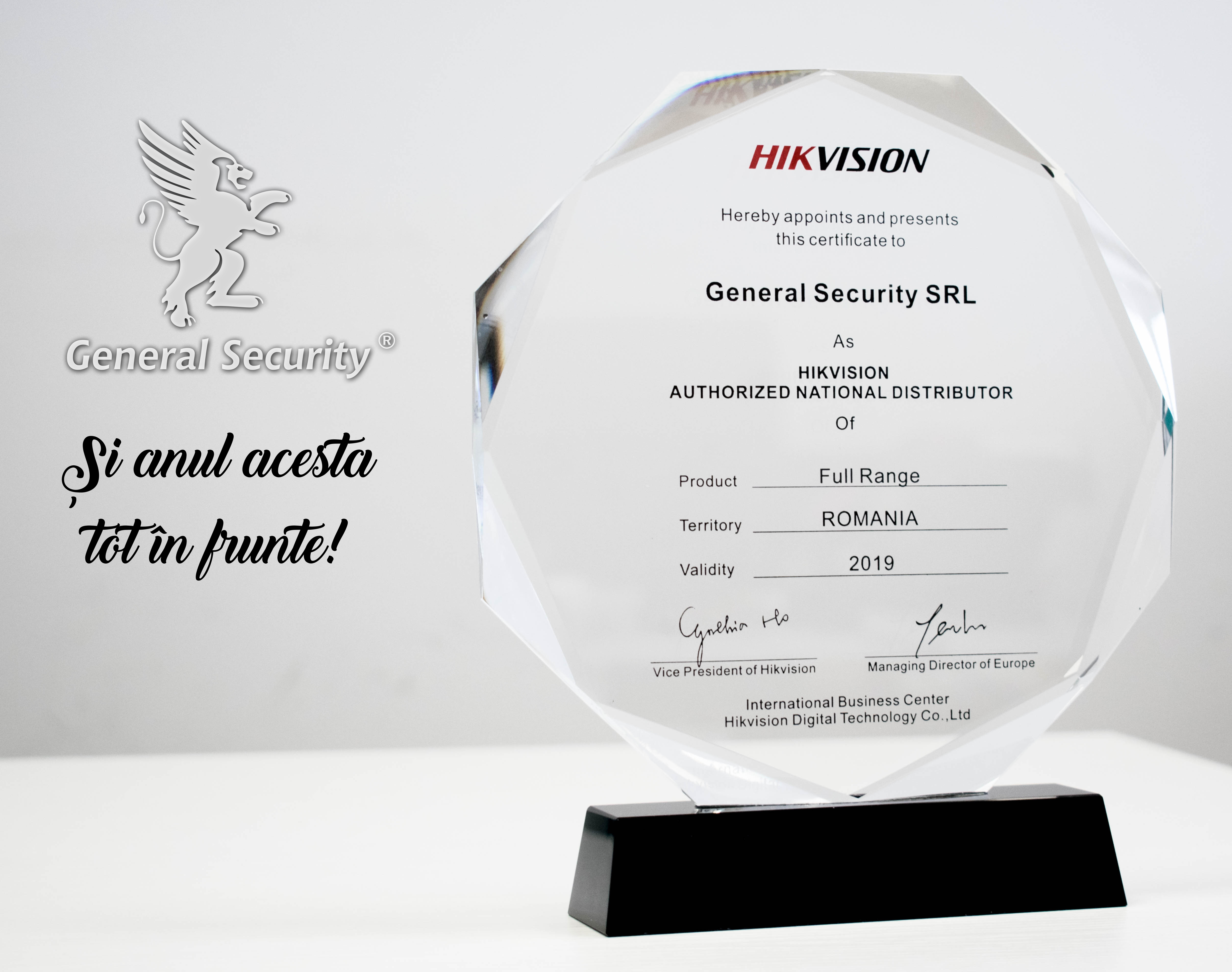 General Security - HIKVISION Gold Distributor